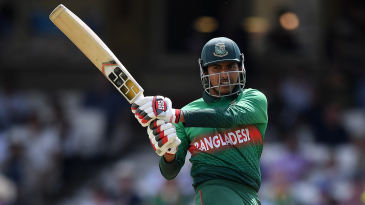 The pull is one of Soumya Sarkar's most productive shots