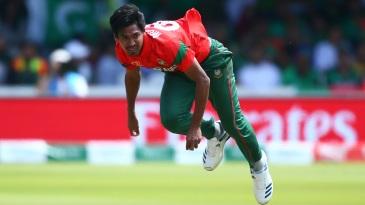 Mustafizur Rahman in full flow