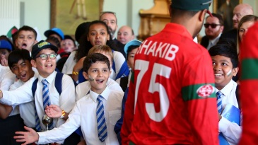 In the Long Room at Lord's with the world's best