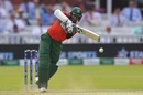 Shakib Al Hasan was once again tasked with anchoring Bangladesh's chase, Bangladesh v Pakistan, World Cup 2019, Lord's, July 5, 2019