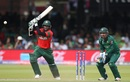 Shakib Al Hasan plays one through the offside on course to yet another fifty, Bangladesh v Pakistan, World Cup 2019, Lord's, July 5, 2019