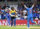 Jasprit Bumrah dismissed Dimuth Karunaratne early, India v Sri Lanka, World Cup 2019, Leeds, July 6, 2019