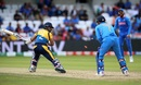 MS Dhoni pulled off a smart stumping to dismiss Kusal Mendis, India v Sri Lanka, World Cup 2019, Leeds, July 6, 2019