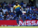 Angelo Mathews scored his third hundred against India, India v Sri Lanka, World Cup 2019, Leeds, July 6, 2019