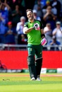 Faf du Plessis celebrates bringing up his century, Australia v South Africa, World Cup 2019, Old Trafford, July 6, 2019