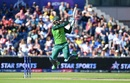 Rassie Van Der Dussen tries to hit the last ball of the innings for six, but is caught out on 95, Australia v South Africa, World Cup 2019, Old Trafford, July 6, 2019