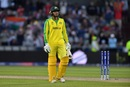 Usman Khawaja returned to the field but couldn't do enough to guide Australia over the line, Australia v South Africa, World Cup 2019, Old Trafford, July 6, 2019