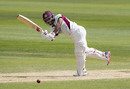 Temba Bavuma turns one away down the leg side, Northamptonshire v Sussex, County Championship Division Two, Northampton, May 23, 2019