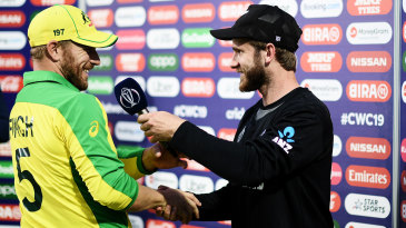 Finch or Williamson: whose captaincy has impressed you more over the World Cup?