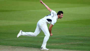 Toby Roland-Jones on his follow-through
