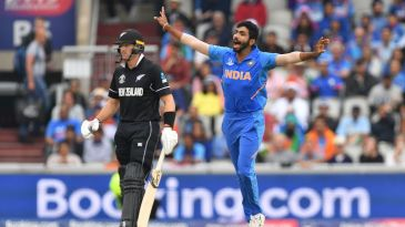 Jasprit Bumrah was almost unplayable early on