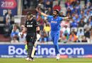 Jasprit Bumrah was almost unplayable early on, India v New Zealand, World Cup 2019, Old Trafford, July 9, 2019