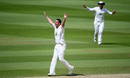 Kyle Abbott appeals for a wicket, Somerset v Hampshire, County Championship Division One, Taunton, July 02, 2019