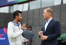 Yuzvendra Chahal gets some tips from Shane Warne, India v New Zealand, World Cup 2019, Old Trafford, July 10, 2019