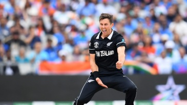 Trent Boult breathes fire after wreaking havoc on India's top order