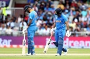 Rishabh Pant was disappointed after holing out in the deep, India v New Zealand, World Cup 2019, Old Trafford, July 10, 2019