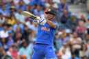 MS Dhoni smashed a six late into the chase, India v New Zealand, World Cup 2019, Old Trafford, July 10, 2019