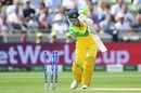 Peter Handscomb was dismissed cheaply on his World Cup debut, England v Australia, World Cup 2019, Edgbaston, July 11, 2019