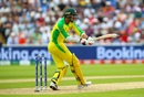 Mitchell Starc added some crucial runs toward the end, England v Australia, World Cup 2019, Edgbaston, July 11, 2019