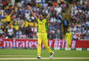 Mitchell Starc broke the opening stand, England v Australia, World Cup 2019, Edgbaston, July 11, 2019