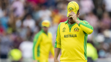 Aaron Finch's reaction summed up Australia's performance