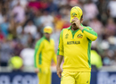 Aaron Finch's reaction summed up Australia's performance, England v Australia, World Cup 2019, Edgbaston, July 11, 2019