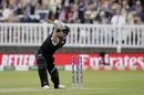 Henry Nicholls is bowled by Liam Plunkett, England v New Zealand, World Cup 2019, Lord's, July 14, 2019