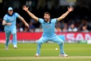 Mark Wood appeals for lbw against Ross Taylor, England v New Zealand, World Cup 2019, Lord's, July 14, 2019