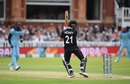 Matt Henry is clean bowled by a rapid Jofra Archer full toss, England v New Zealand, World Cup 2019, Lord's, July 14, 2019