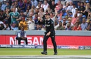 Lockie Ferguson indicates he's caught Eoin Morgan's shot cleanly, England v New Zealand, World Cup 2019, Lord's, July 14, 2019