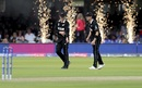 Lockie Ferguson and Matt Henry share a laugh, England v New Zealand, World Cup 2019, Lord's, July 14, 2019