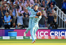 Jonny Bairstow lifts Joe Root after the thrilling finish, England v New Zealand, World Cup 2019, Lord's, July 14, 2019