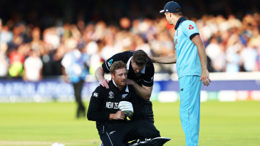 Martin Guptill cuts a sorry figure