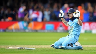 It wasn't the way I wanted to do it, Ben Stokes said of the deflection