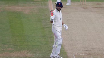 Dom Sibley acknowledges his half-century