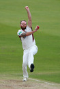 Luke Procter bowls, Northamptonshire v Lancashire, County Championship Division Two, Northampton, July 08, 2019
