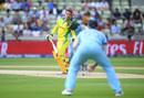 Alex Carey is hit by a Jofra Archer bouncer, England v Australia, World Cup 2019, Edgbaston, July 11, 2019