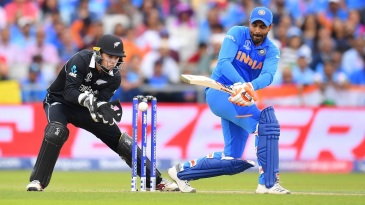 Ravindra Jadeja's 59-ball 77 nearly took India into the World Cup final