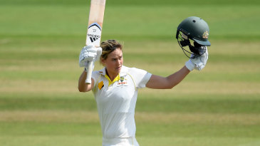 Ellyse Perry brings up her Ashes hundred