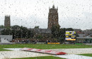 Rain held up proceedings in the afternoon session, England v Australia, only women's Test, Taunton, 2nd day, July 19, 2019