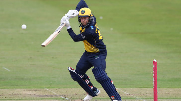 Colin Ingram punches through the off side