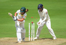 Sophie Molineux was bowled playing across the line, England v Australia, Women's Ashes, only Test, 3rd day, July 20, 2019