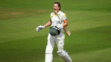 Ellyse Perry celebrates