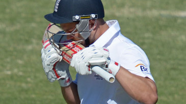 Jonathan Trott's struggles on the Ashes tour of 2013-14 are a focal point of the <i>The Edge</i>