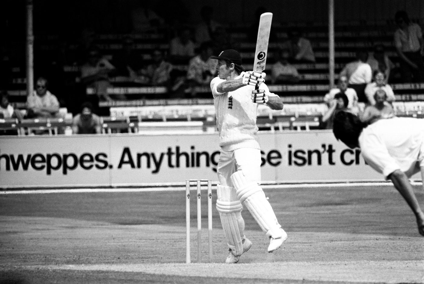 Boycott made 107 and 80 not out in his comeback Test, at Trent Bridge in 1977