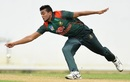 Taskin Ahmed in action,  Sri Lanka Board President's XI v Bangladesh, Tour match, Colombo