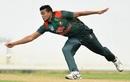 Taskin Ahmed in action,  Sri Lanka Board President's XI v Bangladesh, Tour match, Colombo