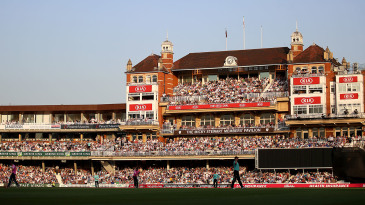 A sold-out Oval on T20 Blast night