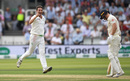 Tim Murtagh finally removed Jack Leach, England v Ireland, Only Test, 2nd day, July 25, 2019