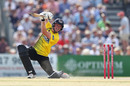 Miles Hammond drives through the off side, Gloucestershire v Middlesex, Vitality Blast, July 25, 2019
